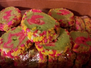 Champagne cookies from Mike's.