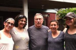 Pam, Denise, Dad, Me and Emily