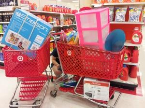 Full carts!