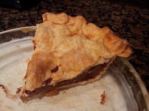 Last piece of pie.