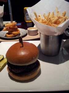 Great burger and fries!