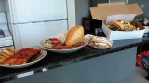 Our bounty from D'amato's