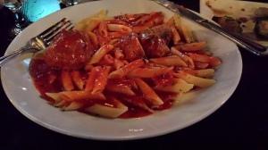 Pre race pasta & meatballs