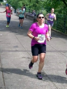 About mile 24. Thanks for the pic Travis!