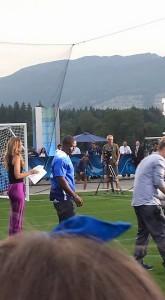 Reggie Bush with Fox Sports