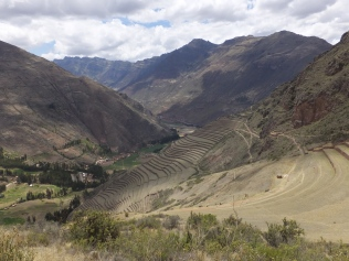Inca Pisac Ruins