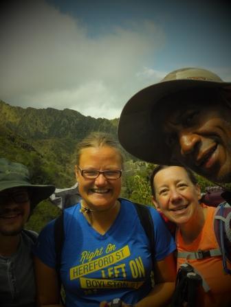 Jordan, Jane, Charles and me